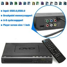 Home DVD Player for TV, HDMI Output Full HD 1080p Upscaling, USB Port, Supports