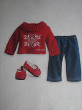 NEW - American Girl Bitty Baby/Twin Winter Wishes Outfit + Book