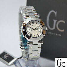 NEW GUESS COLLECTION GC DIVER CHIC MOP LADY WATCH DATE SS BRACELET I20026L1S NWT
