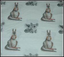 1  x Australian Koala & Kangaroo Paper Napkin Scrapbook Decoupage Card Collage