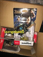 The Legend of Zelda Breath of the Wild Rider Link Amiibo Switch Wii BOTW fr case