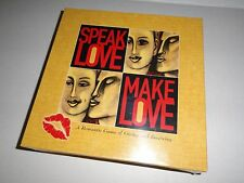 Speak Love/Make Love - Romantic Game of Giving and Receiving - Adult Game - New