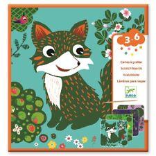 Cartes à gratter Toutes petites bêtes (3+) - Djeco DJ09092