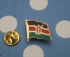 Kenia Kenya  Pin Anstecker Flaggenpin Button Badge Anstecknadel Sticker AF