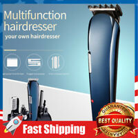 Hair Clipper for Men 8 in 1 Rechargeable Trimmer Shaver Beard for Hair Styling