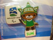 LOT of 30 PINS - Vancouver 2010 Olympics - Sumi Mascot Pin