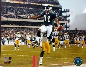 TERRELL OWENS Touchdown 8X10 ACTION PHOTO Philadelphia Eagles