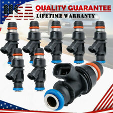 8 Upgrade Fuel Injectors For 1999-2007 Chevy Silverado GMC 4.8/5.3/6.0L 25317628