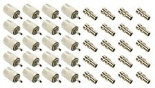 NEW 20 pack PL259 solder connector plug WITH reducer for RG8X coaxial coax cable