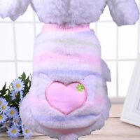Pet Dog Coat Jacket Winter Clothes Puppy Cat Sweater Clothing Apparel Vest ~