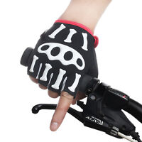 MTB Mountain Bike Road Cycling Racing Bicycle Anti-slip Fingerless Mitten Gloves