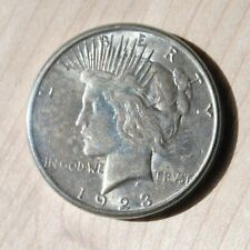 1923 D PEACE Silver Dollar, XF AU CONDITION 64 65 66