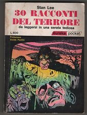 Stan Lee 30 RACCONTI DEL TERRORE eureka pocket n. 8 editoriale corno 1972