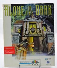 ALONE IN THE DARK - Macintosh Mac OS BIG BOX europe French Français complete !!