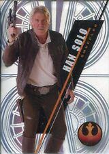 Star Wars 2016 High Tek Pattern 2 Form 2 Base Card SW-84 Han Solo
