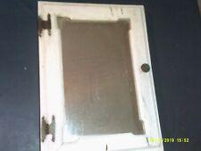 OLD HANDMADE PRIMATIVE TYPE WALL HANGING MEDICINE CABINET MIRROR DOOR FRONT