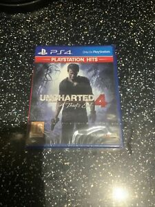 PLAYSTATION 4 PS4 GAME Uncharted 4 A Thief's End NEW & SEALED