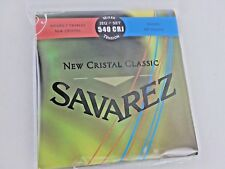 1 Set * Savarez 540Crj *New Cristal Classic* Mixed Tension Guitar Strings