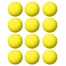 "Nocsae Lacrosse Balls Gold Nocsae Balls, 12 Sports "" Outdoors Team & Fitness"