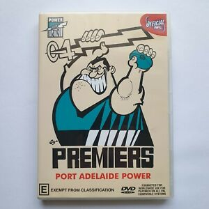 AFL Premiers 2004 Grand Final - Port Adelaide Power DVD Like New Condition PAL