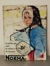 Plaque Publicitaire NORMA