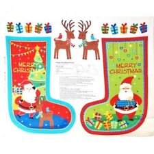 Unbranded Holiday/Christmas Craft Fabric Panels