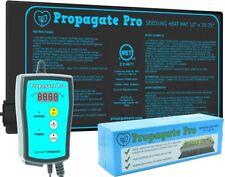 "PROPAGATE PRO Seedling Heat Mat 10""x20"" 1-Tray Seed Starter + Heating Thermostat"