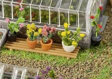 FALLER H0 181270 Six plantes en pot # Neuf Emballage d'origine ##