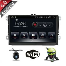 "9"" Car DVD Player Radio Stereo GPS Navi Unit for VW Golf MK5 Passat Eco+Camera"