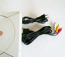 NEW SEGA DREAMCAST AC Power Cord Adapter & RCA A/V AV TV Audio Video Cable