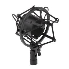 Microphone Shock Mount Universel Support Suspension Micro Anti-Choc Noir
