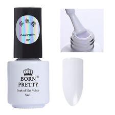 5ml UV Gel Nagellack Nail Art Maniküre Weiß UV Kleben Lack Dekor Born Pretty