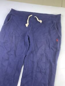 Polo Ralph Lauren Joggers Sweatpants Pants Blue Men's Medium