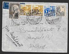 Netherlands Indies covers 1936 Airmailcover Vliegveld Talangbetoetoe