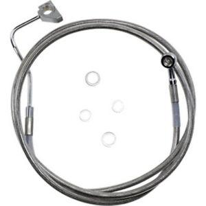LA Choppers Polished Cable//Brake Line Kits for OEM Bars LA-8110KT-00