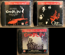 The Goblin Collection Volume 1, 2 & 3 | Soundtrack CDs OST | PROF ROSSO DEEP RED
