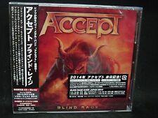 ACCEPT Blind Rage + 1 JAPAN CD + BLU-RAY Wolf Hoffmann Don Dokken TT Quick