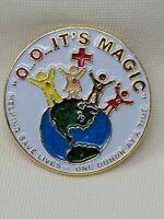 American Red Cross ARC O O O It's Magic Blood Donor Pin Bin 3/30