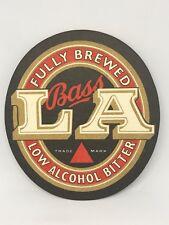 Vintage Bass LA Bitter Beer Coaster Bar Decoration Man Cave