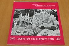 Vinyl LP - Peterborough Cathedral Choir - Music For The Church's Year - LPB 658