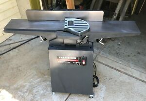 "Sears Craftsman 6"" Jointer Rebuilt, super clean, trued, Brand New Blades 2.5 HP"