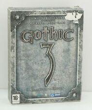 GOTHIC 3 Collector's Edition Videogioco PC ITA Big Box con Manuale