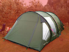 EUROHIKE BUCKINGHAM 6 MAN PERSON OUTDOOR CAMPING FESTIVAL FAMILY FAULTY TENT & Eurohike Tunnel Camping Tents | eBay