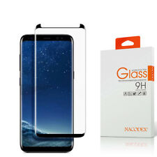 2-Pack For Samsung Galaxy S9 3D Full Cover Tempered Glass Screen Protector