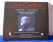 Joe Cocker Have A Little Faith In Me 2 track 1994 DJ promo cd promotional single