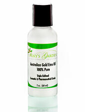 FRESH AUSTRALIAN GOLD EMU OIL - TRIPLE REFINED - NO ADDITIVES - 2 oz Size