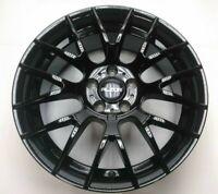 Alzor - Style 030 Wheel - 18 x 8, 5 x 112, Satin Black ET35 NIB