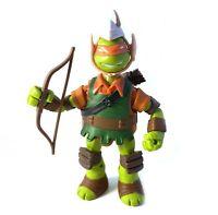 Mikey The Elf TMNT Ninja Turtles Action Figure Complete 2014 Michelangelo LARP