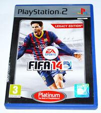 FIFA 14 LEGACY EDITION PS2 Sony PlayStation 2 RARE *PAL*