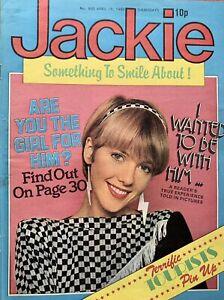 Jackie Magazine 19 April 1980 No. 850     The Tourists    Squeeze